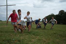 La course de chars: les bruns sont en force suivis des gris pendant les Olympiades
