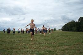 Melchior sprinte pour faire gagner sa sizaine